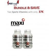 2xMaxifuel Sports Vitamins (30 κάψουλες το καθένα)