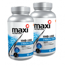 2 X MaxiNutrition HMB-1000 (60 tablets)