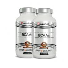 2 X MaxiFuel BCAAs (130 Caps)