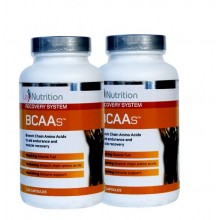 2 X LeoNutrition BCAAs (130 caps)
