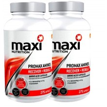2xPromax Aminos (275 capsules each)